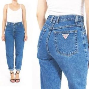 VTG GUESS HIGH WAISTED JEANS